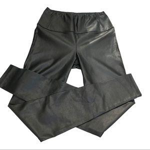 Aritzia Wilfred Daria Vegan Leather Pants